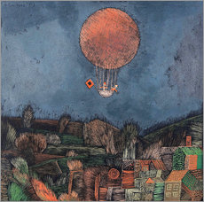Gallery print  The balloon - Paul Klee