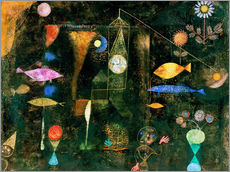 Gallery print  Fish magic - Paul Klee