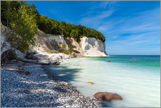 Gallery print  Chalk cliffs on the island Ruegen, Germany - Rico Ködder