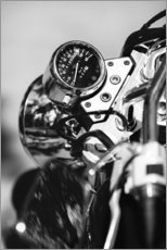Wall sticker  Speedometer of a motorcycle