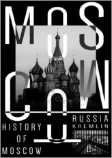 Gallery print  Moscow - Typobox