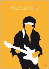 Wall sticker  Jimi Hendrix, Voodoo Child - chungkong