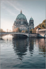 Gallery print  Berliner Dom in rising autumn light - Philipp Dase