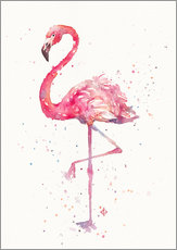 Wall sticker  A Flamingos Fancy - Sillier Than Sally