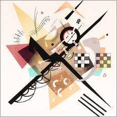 Wall sticker  Draft 'On White II' - Wassily Kandinsky