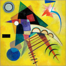 Gallery print  White point - Wassily Kandinsky