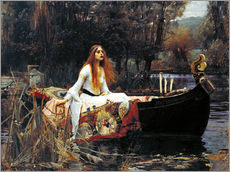 Gallery print  The Lady of Shalott - John William Waterhouse