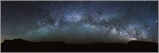 Wall sticker  Panoramic of the Milky Way arch, United States - Matteo Colombo