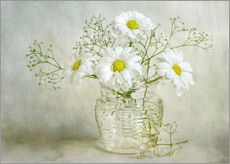 Gallery print  Still life with Chrysanthemums - Mandy Disher
