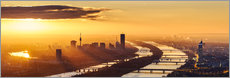 Wall sticker  Sunrise above Vienna - Benjamin Butschell