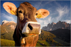 Wall sticker  Mountain Moo(d) - Carsten Meyerdierks