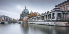 Gallery print  Berlin Cathedral in autumn colors - Philipp Dase