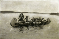 Wall sticker  This Was a Fatal Embarkation - Frederic Remington