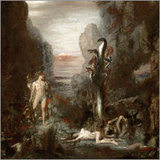 Gallery print  Hercules and the Lernaean Hydra - Gustave Moreau