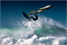 Wall sticker  Windsurfer in the air - Ben Welsh