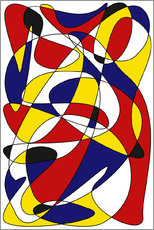 Gallery Print  MONDRIAN AND GAUSS - THE USUAL DESIGNERS