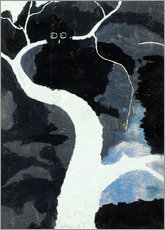 Wall sticker  Hibou - Léon Spilliaert