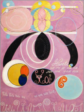 Acrylic print  The Ten Largest, No. 6, Adulthood - Hilma af Klint