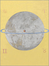 Wall sticker  The Dove, No. 12 - Hilma af Klint