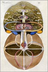 Wall sticker  Tree of Knowledge, No. 1 - Hilma af Klint