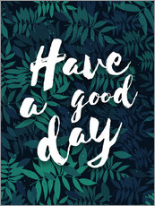 Wall Stickers  Have a good day - dear dear