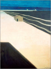 Gallery print  The Sea Wall - Léon Spilliaert