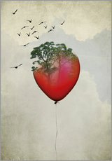 Gallery print  Red balloon - Amy and Kurt