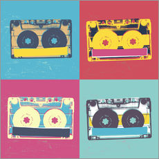 Gallery print  Cassettes