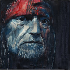 Gallery print  Always On My Mind - Willie Nelson - Paul Lovering Arts