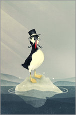 Wall sticker  Lord Puffin - Romina Lutz