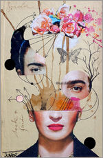 Gallery print  Frida for Beginners - Loui Jover