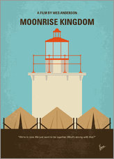 Wall Stickers  No760 My Moonrise Kingdom minimal movie poster - chungkong