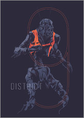 Wall sticker  District 9 - Fourteenlab