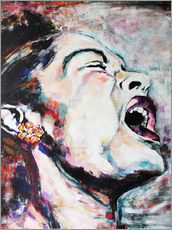 Gallery print  Billie Holiday, I`m a Fool to Want You - Christel Roelandt