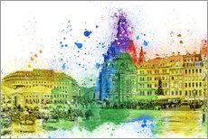 Wall sticker  The Frauenkirche in Dresden - Peter Roder