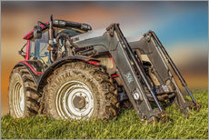 Gallery print  Tractor with front loader - Peter Roder