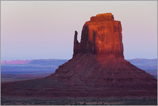 Wall sticker  Monument Valley at sunset - Rainer Mirau