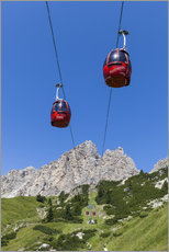 Gallery print  Cable Car Frara, South Tyrol - Gerhard Wild