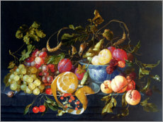 Wall sticker  A Still Life of Fruit - Cornelis de Heem