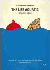 Wall Stickers  No774 My The Life Aquatic with Steve Zissou minimal movie poster - chungkong