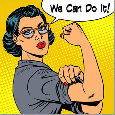 Wall Stickers  We can do it! popart