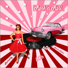Wall Stickers  Rock'n Roll 50s - Monika Jüngling