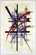 Gallery Print  Sign with accompaniment - Wassily Kandinsky
