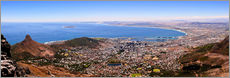 Wall sticker  Cape Town panoramic view - HADYPHOTO