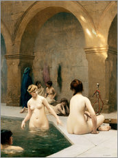 Wall sticker  The Bathers - Jean Leon Gerome