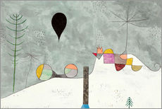 Wall sticker  Winter picture - Paul Klee