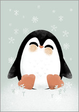 Gallery print  Animal Friends - The Penguin - Kanzi Lue
