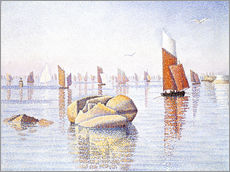 Wall sticker  Concarneau, quiet morning - Paul Signac
