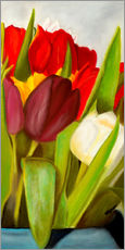 Gallery print  Cheerful spring colors - Monica Schwarz