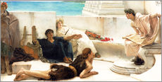 Wall sticker  A reading from Homer - Lawrence Alma-Tadema